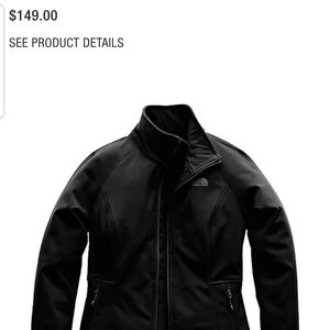 Womans apex north face jacket